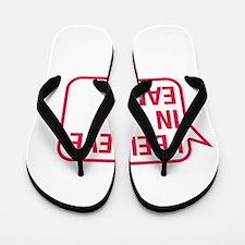 I Believe In Ean Flip Flops