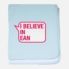 I Believe In Ean baby blanket