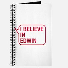 I Believe In Edwin Journal