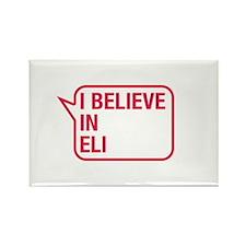 I Believe In Eli Rectangle Magnet