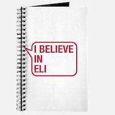I Believe In Eli Journal
