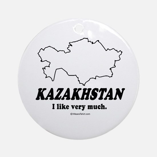 Kazakhstan: I like very much Ornament (Round)