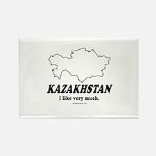 Kazakhstan: I like very much Rectangle Magnet
