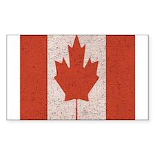 Claystone Canadian Flag Decal