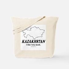 Kazakhstan: I like very much Tote Bag