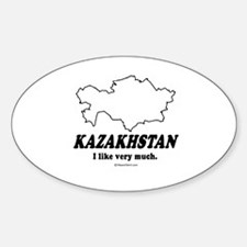 Kazakhstan: I like very much Oval Decal