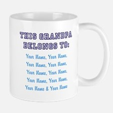 This Grandpa Belongs To: [Your Names] - Personaliz