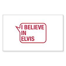 I Believe In Elvis Decal