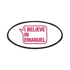 I Believe In Emanuel Patches