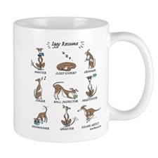 Iggy Resume / Italian Greyhound Resume Mug