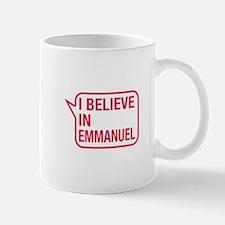 I Believe In Emmanuel Small Small Mug