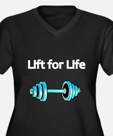 Lift for Life 2 Plus Size T-Shirt