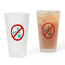 Banned Misc Drinking Glass