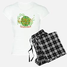 Galway Shamrock pajamas