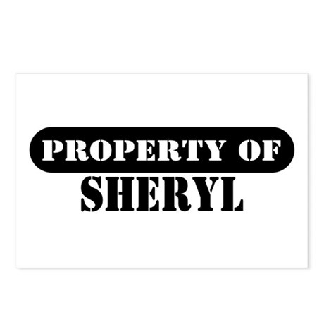 Property of Sheryl Postcards (Package of 8)