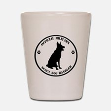 Official Military Scout Dog Handler Shot Glass
