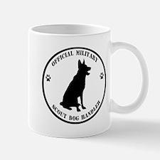 Official Military Scout Dog Handler Mug