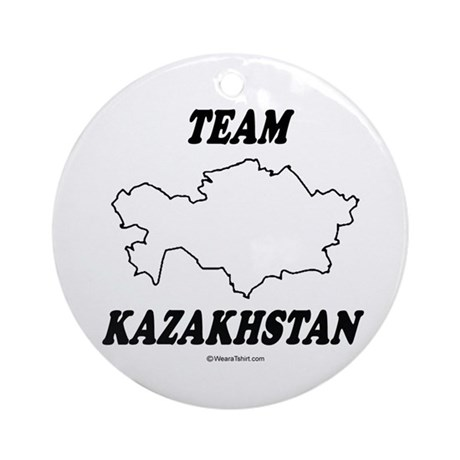 Team Kazakhstan Ornament (Round)