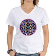 Flower of Life Organic Cotton Tee T-Shirt