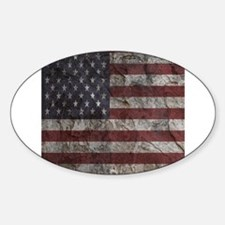 Cave Wall American Flag Decal