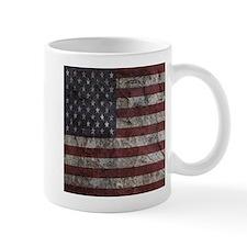 Cave Wall American Flag Mug