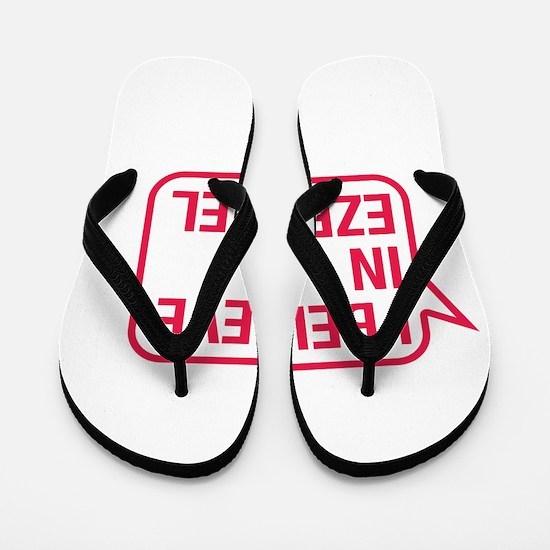 I Believe In Ezequiel Flip Flops