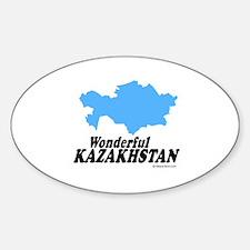 Wonderful Kazakhstan - Oval Decal