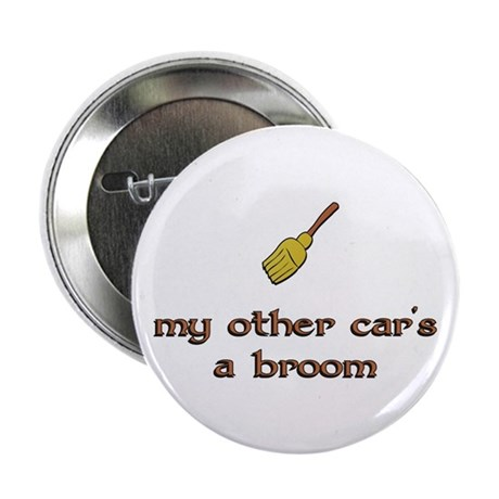 "my other car's a broom 2.25"" Button (10 pack)"