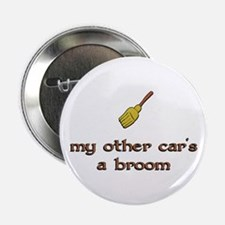 my other car's a broom Button