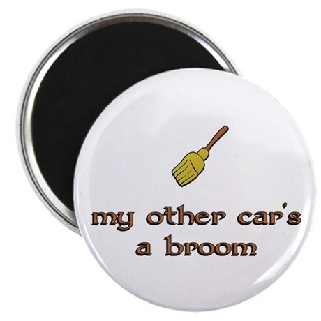 my other car's a broom Magnet