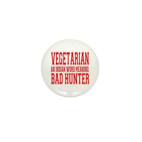 Vegetarian Mini Button