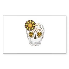 Brown Sugar Skull Decal