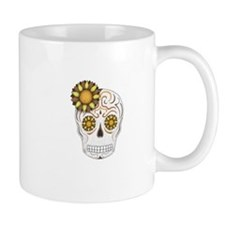 Brown Sugar Skull Mug