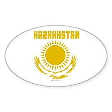 Kazakhstan Oval Decal