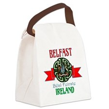 belfast Remake ribbon3.png Canvas Lunch Bag