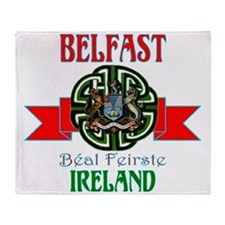belfast Remake ribbon3.png Throw Blanket