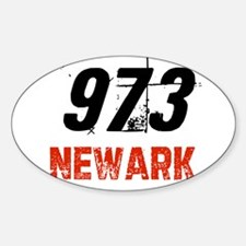 973 Oval Decal