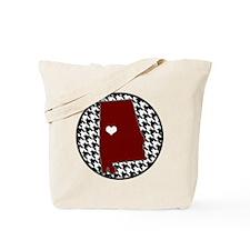 Roll Tide in my Heart Tote Bag