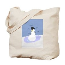 Tipsy the Snowman! Tote Bag