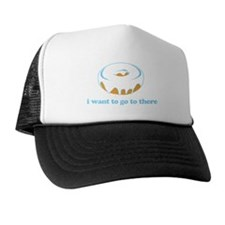 I Want To Go There Trucker Hat