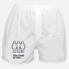 This Could be You (Threesome) Boxer Shorts