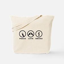 Cigar Smoking Tote Bag