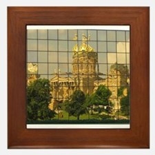 Capitol Reflection Framed Tile