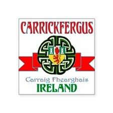 Carrickfergus Coat of Arms NEW.png Sticker