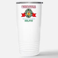 Carrickfergus Coat of Arms NEW.png Travel Mug