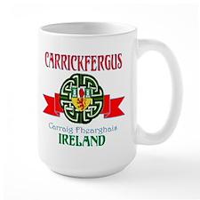 Carrickfergus Coat of Arms NEW.png Mug
