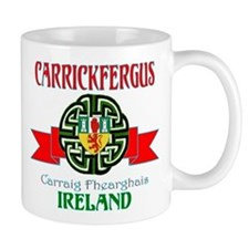 Carrickfergus Coat of Arms NEW.png Small Mug