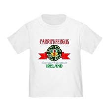 Carrickfergus Coat of Arms NEW.png T-Shirt