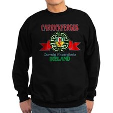 Carrickfergus Coat of Arms NEW.png Sweatshirt