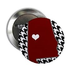 "Heart of Alabama 2.25"" Button"